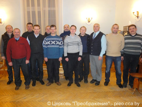 Молитвенное общение братьев в Горках