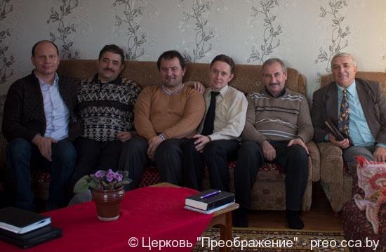 Молитвенное общение пресвитеров в г. Чашники